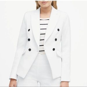 Gorgeous Double Breasted Blazer and wide leg cropp